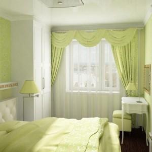 Оформление окна и кровати